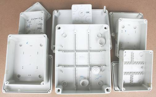 Plastic Enclosure Electrical Switch Box Electrical Box